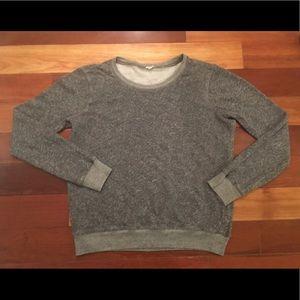 J. Crew Gray Lightweight Sweatshirt